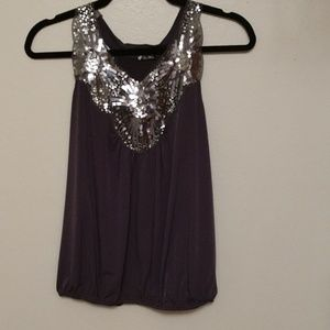 Lily White embellished top.